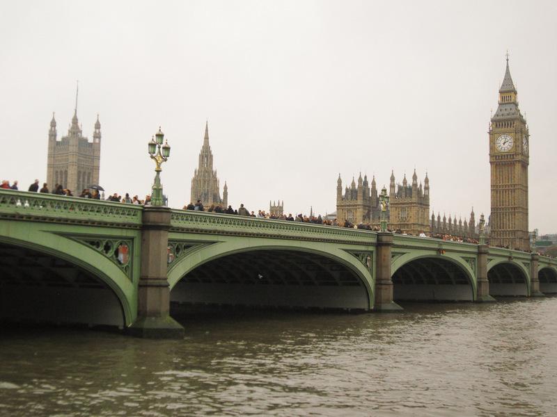London, Städtetrip, Big Ben, Brücke, Sightseeing
