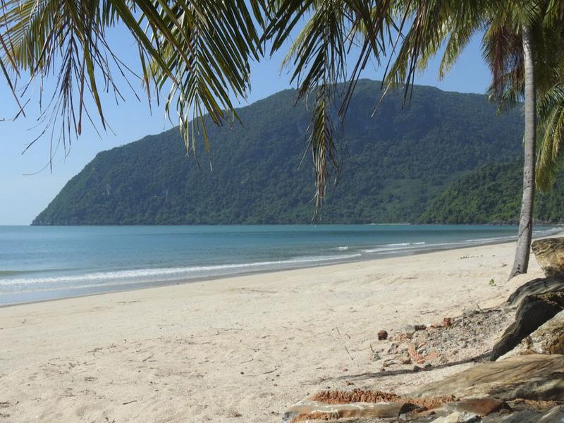 Einsamer Strand, Thailand, Sehenswürdigkeit, Nakhon si Thammarat
