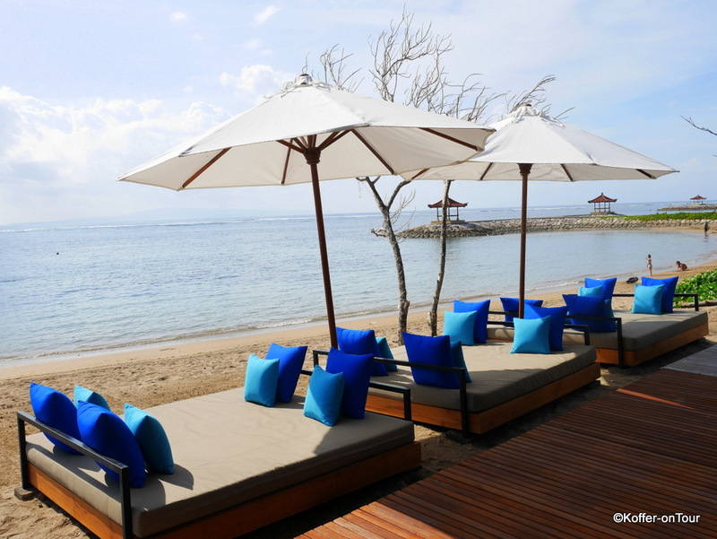 Sanur, Bali, Strand, Griya Santrian Hotel
