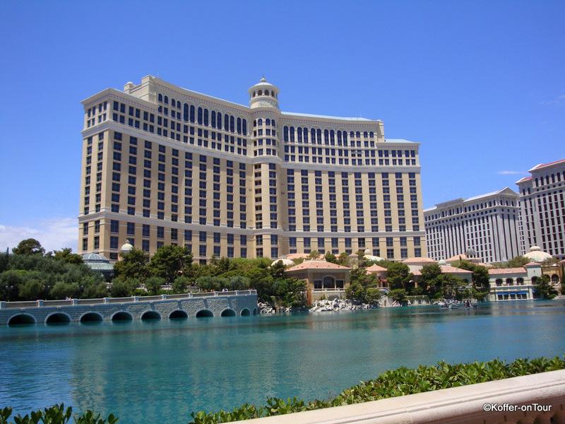 Hotel Bellagio, Las Vegas, Strip, Nevada, USA