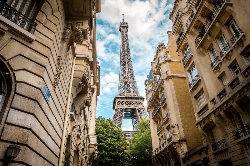 Paris, Eiffelturm, Aussicht, Frankreich
