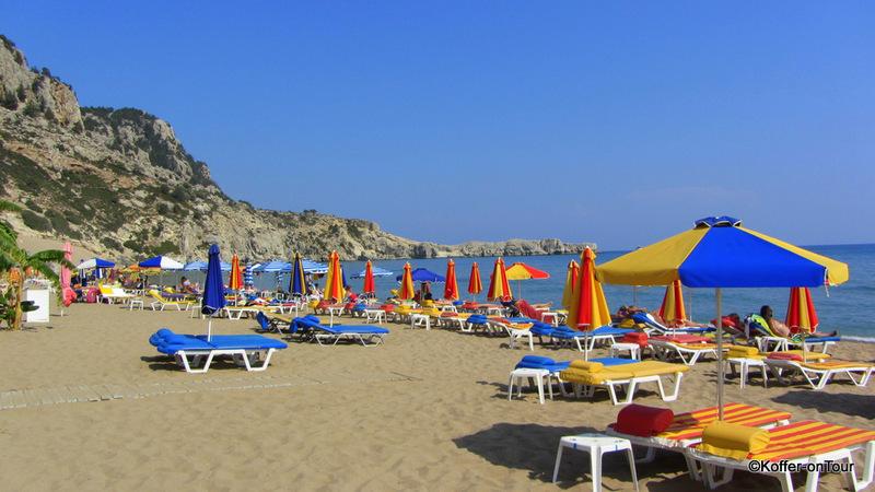 Tsambika Beach, strand, Rhodos, Griechenland