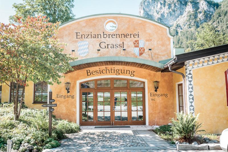 Enzianbrennerei Grassl in Berchtesgaden, Berchtesgadener Land, Deutschland