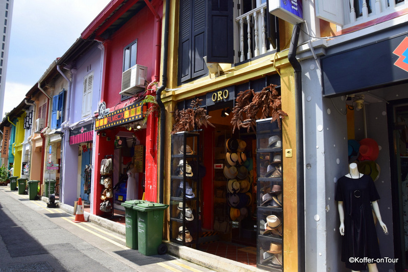 Haji Lane, Singapur, Bunte Strasse