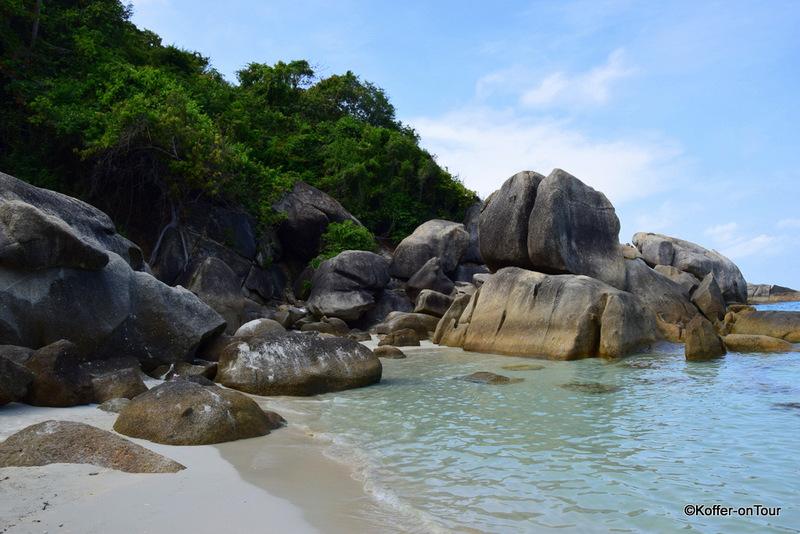 Koh Samui, Thailand, Strand, Felsen, Sehenswürdigkeiten