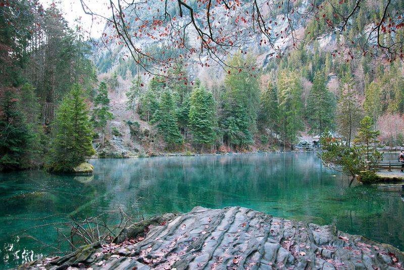 Blausee, Schweiz,
