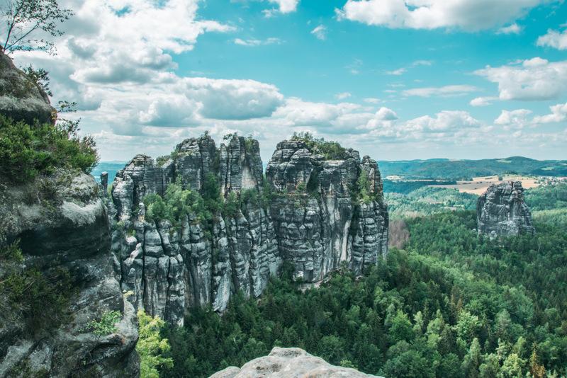 Schrammsteine, Sächsische Schweiz, Elbsandsteingebirge, Elbsandstein, Felsen,