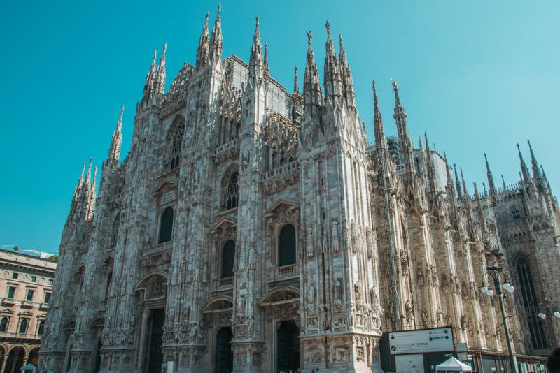 Milano, Mailänder Dom, Duomo, Mailand, Italien, Jehova, JHWH