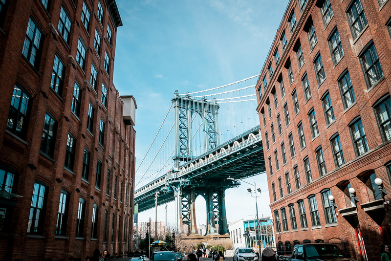 DUMBO, Manhattan Bridge, New York