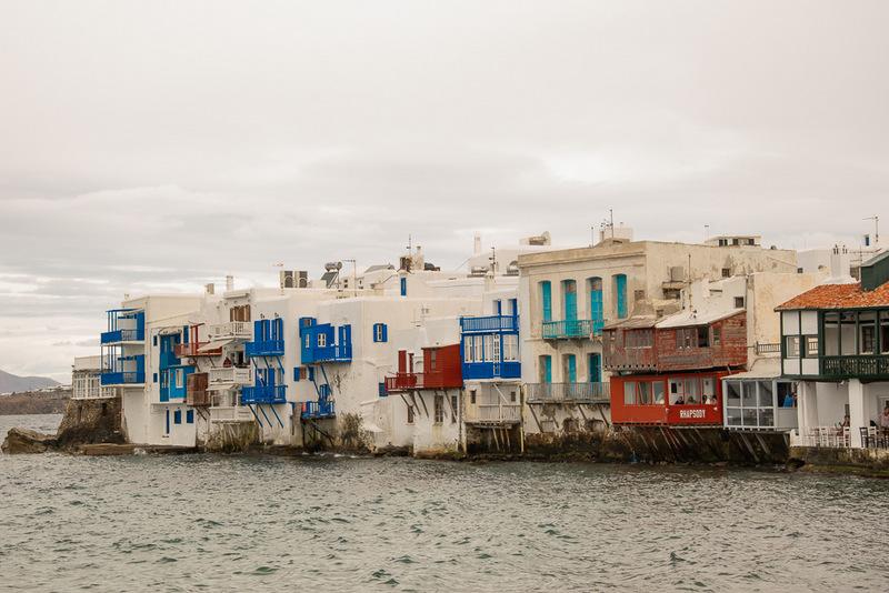 Mykonos, Griechenland, Little Venice, Inselhopping
