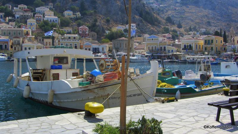 Hafen, Symi, Griechenland, Ägäis