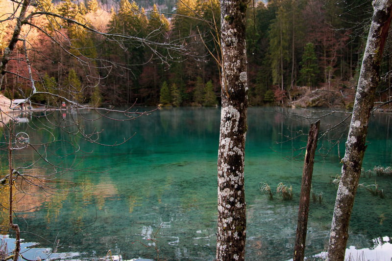 Blausee, Schweiz, Kandertal, Berner Oberland