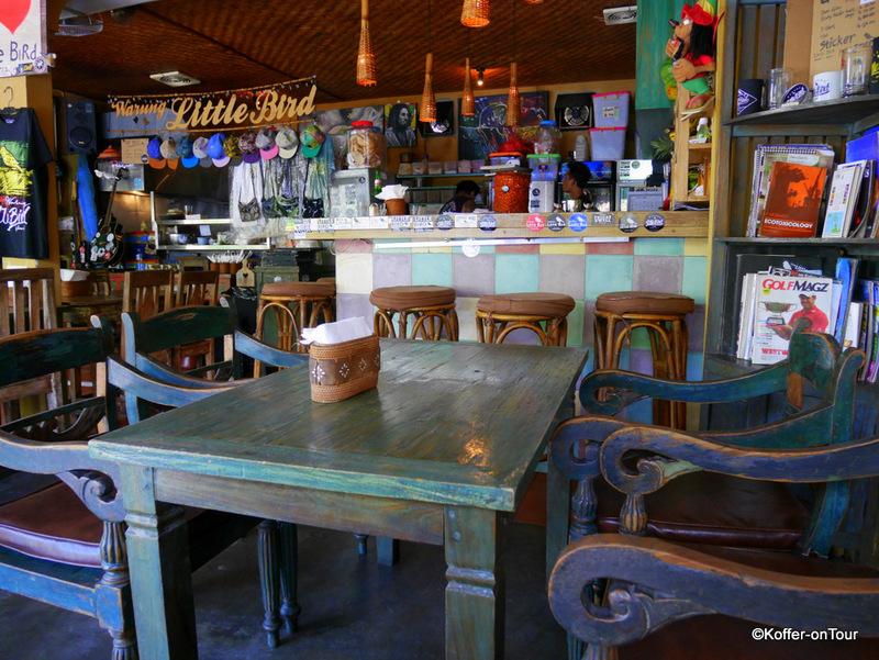 Warung Little Bird, restaurant, Sanur, Bali