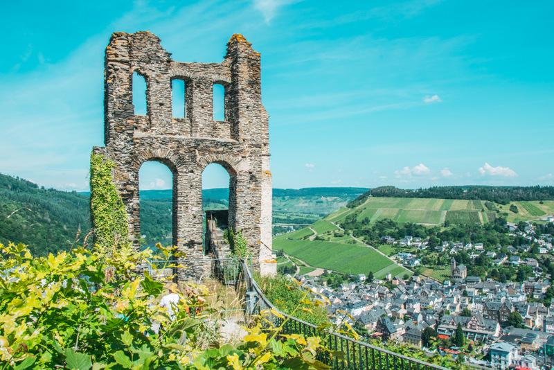 Ruine Grevenburg, Burgruine, Traben Trarbach, Mosel, Burg