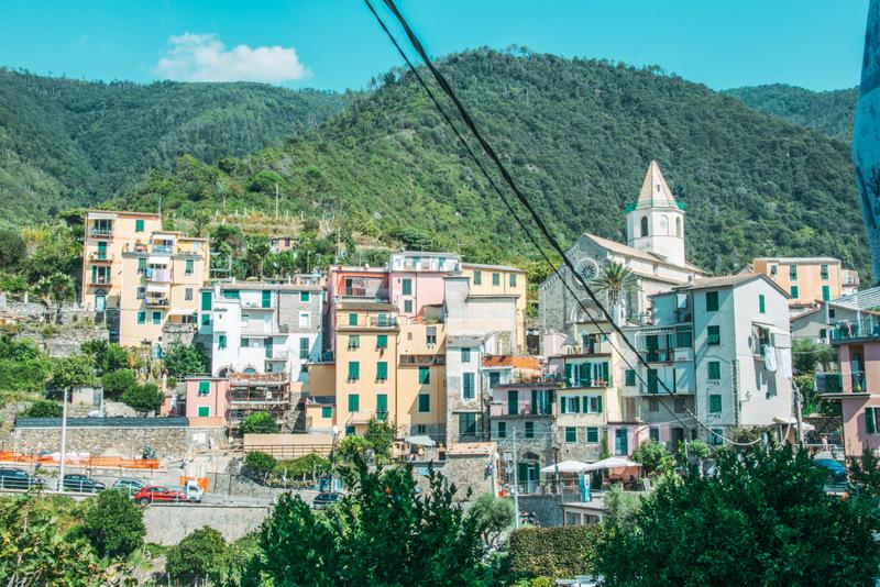 Corniglia, Cinque Terre, 5 Dörfer, Italien