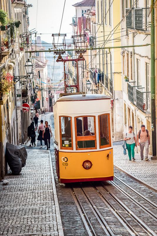 Standseilbahn, Lissabon, Portugal,
