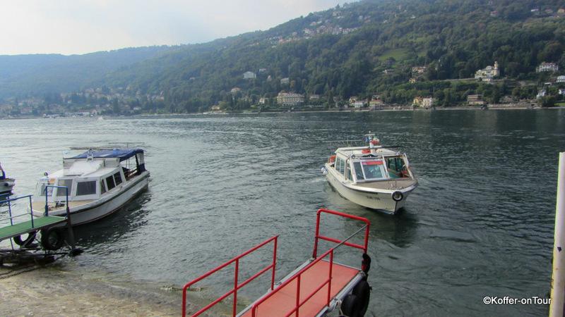 Boot, Lago Maggiore, Isola Madre