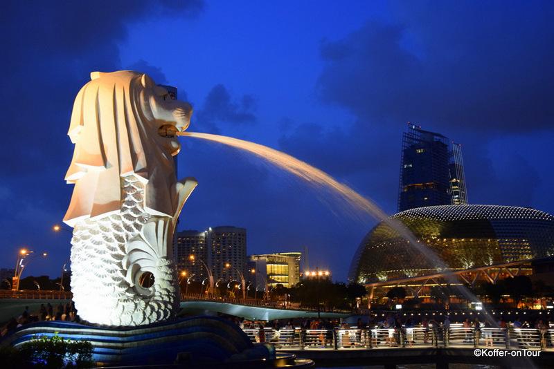 Merlion, Singapur, Wahrzeichen