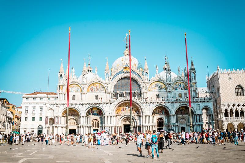 Markusdom, Markusplatz, Kirche, Italien, Venedig, Venezia, Basilica die san Marco