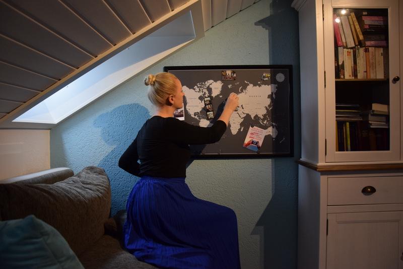 Weltkarte, Vacentures, Reiseplanung, Reisen