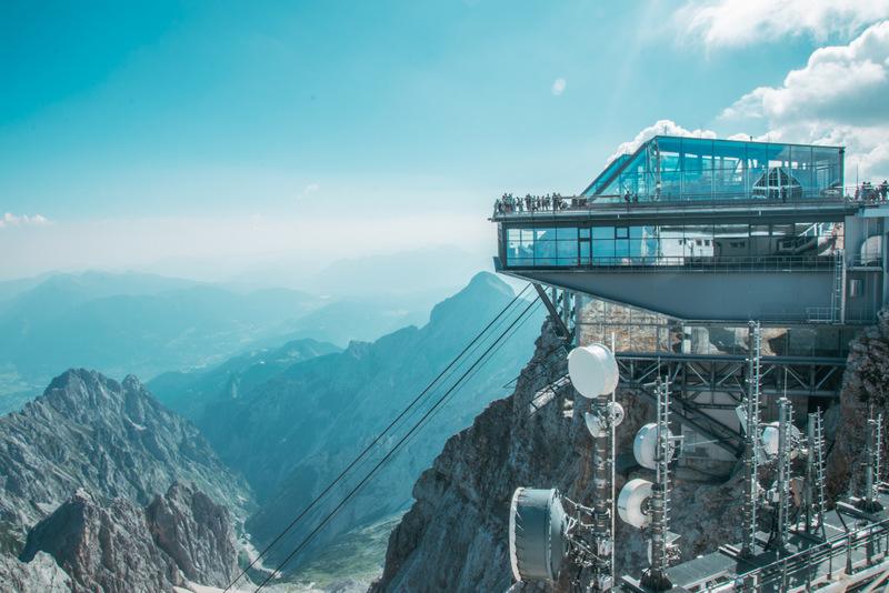 Zugspitze, Seilbahn, Ehrwald, Deutschland, Österreich, Eibsee