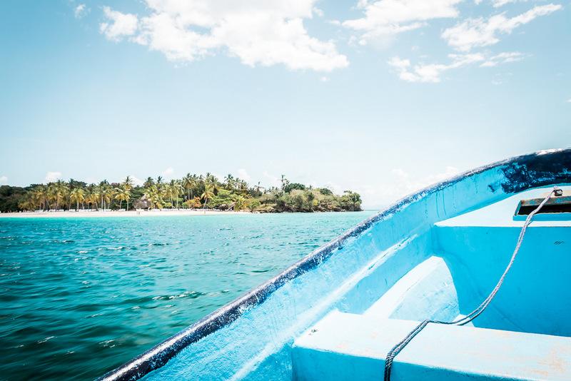 Bacardi Insel, Dominikanischen Republik, Cajo Levantado