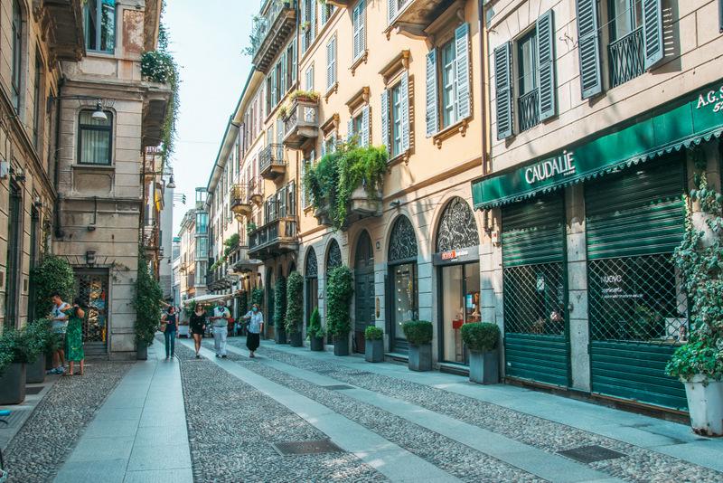 Stadtviertel Brera, Mailand, Milano, Viertel Brera