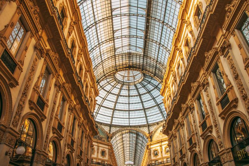 Galleria Vittorio Emanuele, Mailand, Milano, Duomo, Mailänder Dom