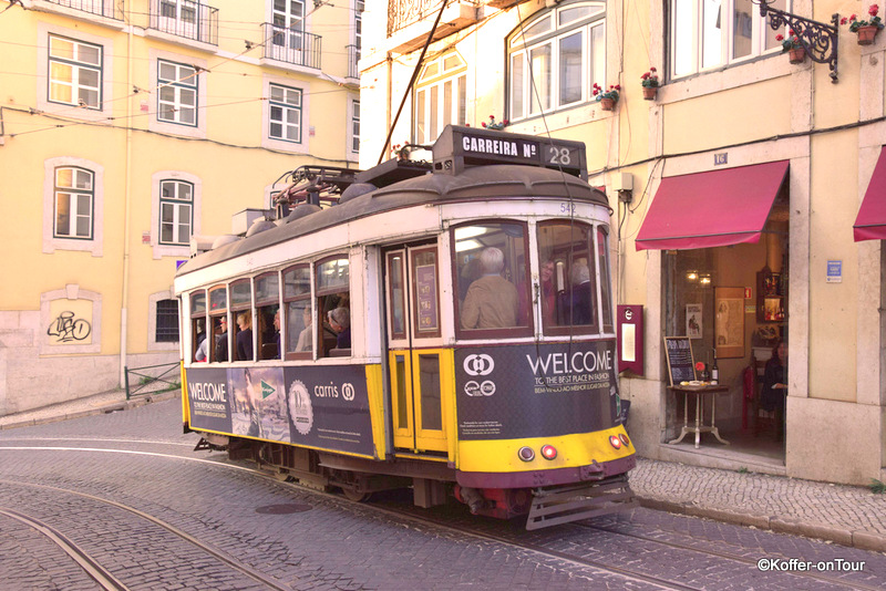 Lissabon, Städtetrip, Portugal, Tram 28,