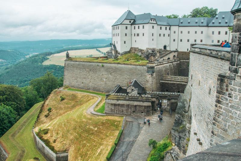 Festung Königstein, Sächsische Schweiz, Schloß, Burg, Elbsandsteingebirge