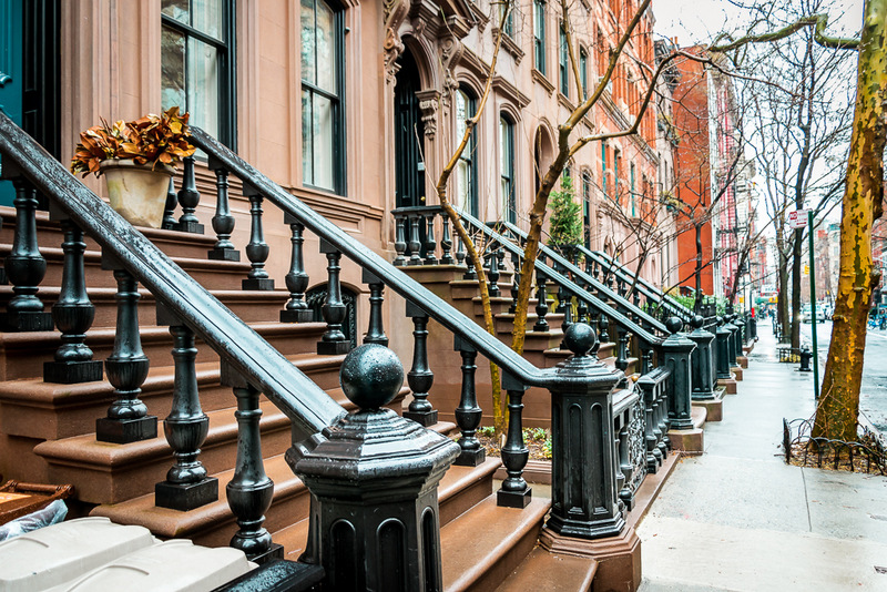 Brownstones, New York, Typisch, Must See