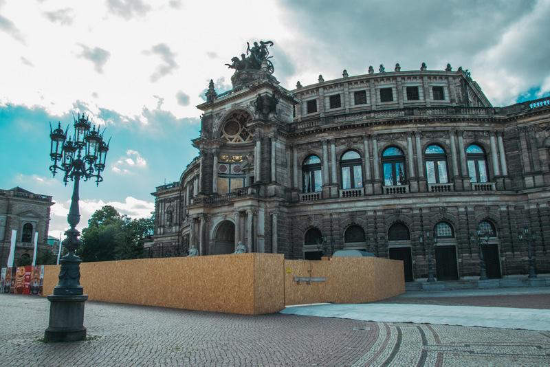 Semperoper, Dresden, Deutschland, Reisen, Urlaub