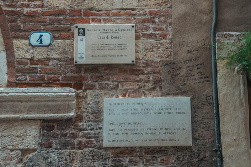 Casa di Romeo, Verona, Italien