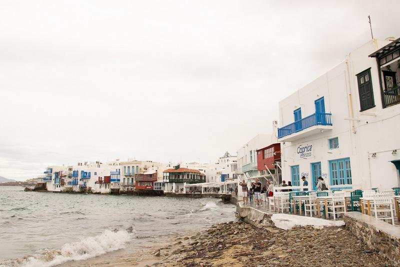 Little Venice, Mykonos, Griechenland, Kykladen