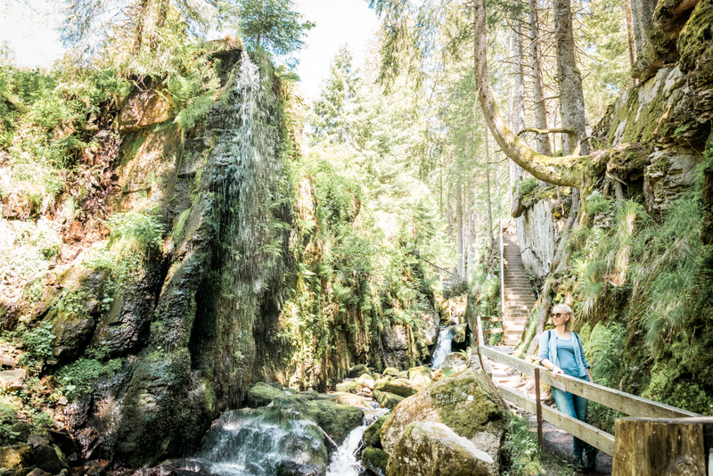 Menzenschwander Wasserfall, Schwarzwald, Black Forrest, Deutschland, Wandern, Urlaub