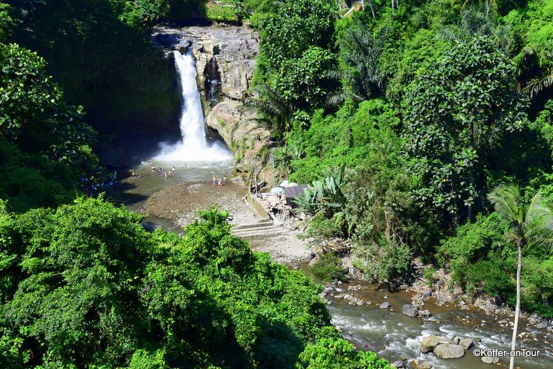Tegenungan Wasserfall, Bali, Sehenswürdigkeit