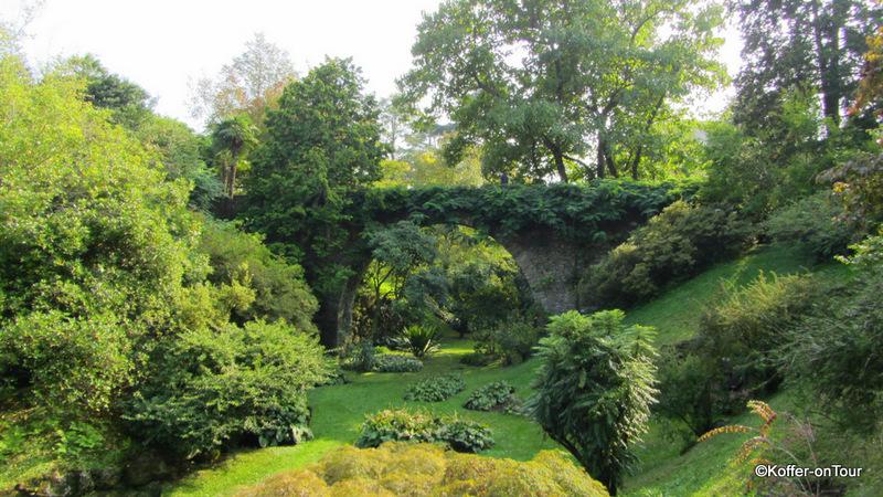 Tal im Botanischen Garten