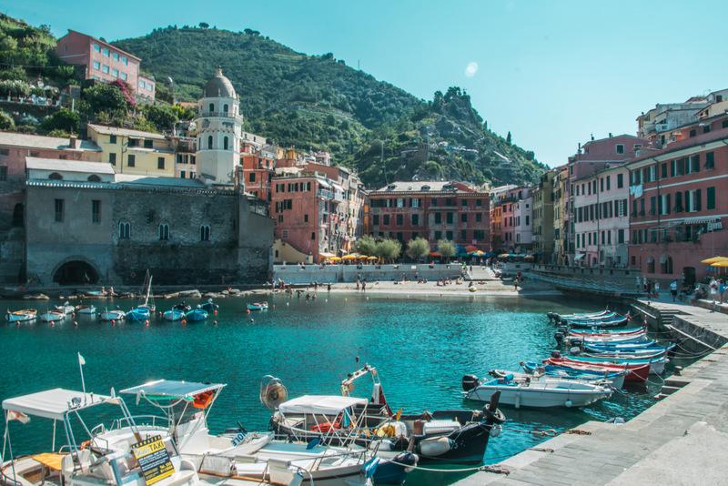 Vernazza, Cinque Terre, Italien, 5 Dörfer
