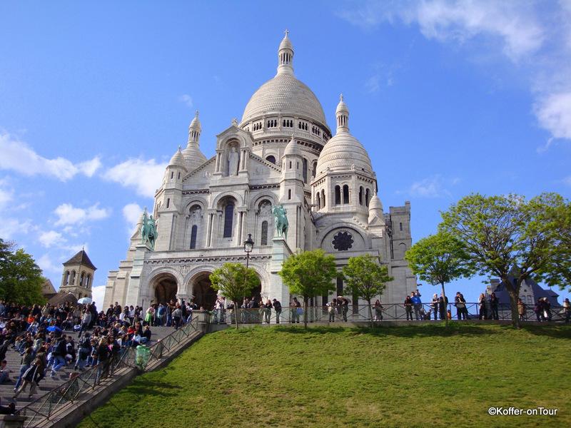 Sacré- Coeur de Montmartre, Paris, Frankreich,