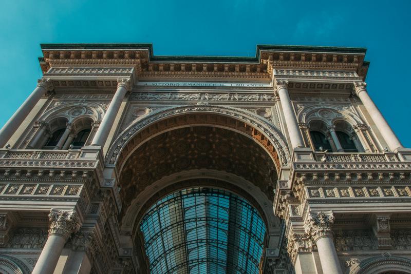 Mailand, Italien, Modemetropole, Viktor-Emanuel-Passage, Campari, Duomo