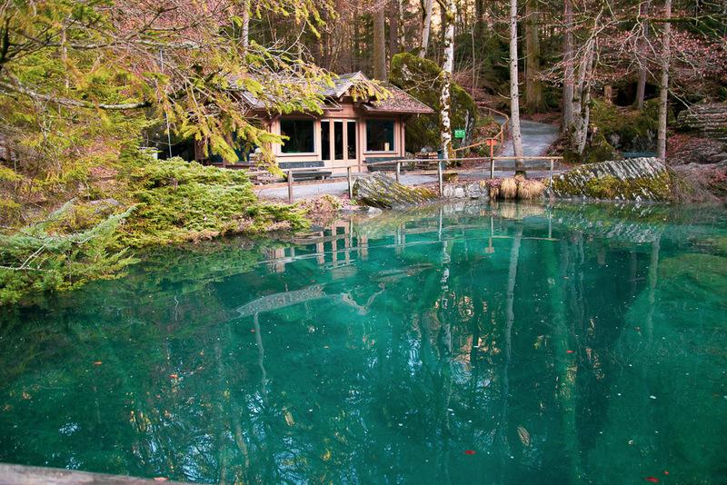 Blausee, Schweiz, Berner Oberland