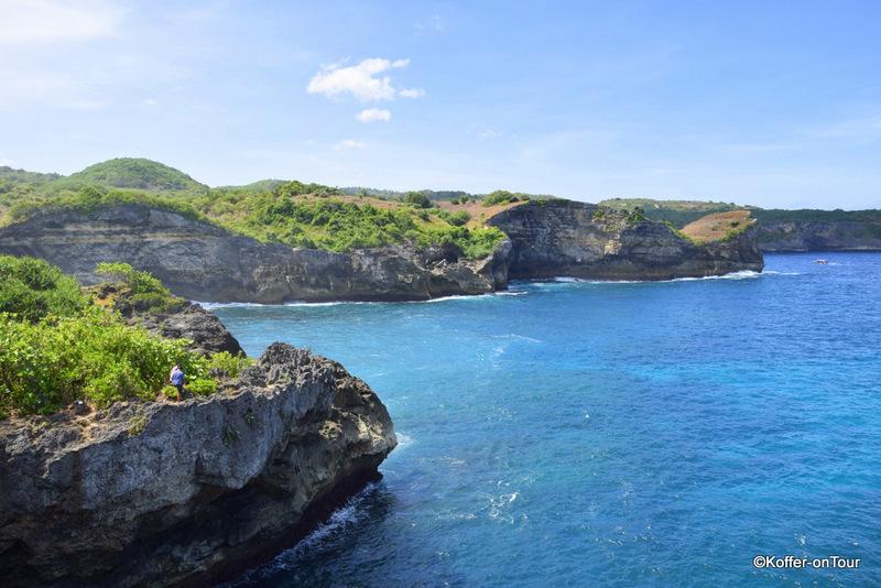 Steilküste, Manta Point, Nusa Penida, Bali