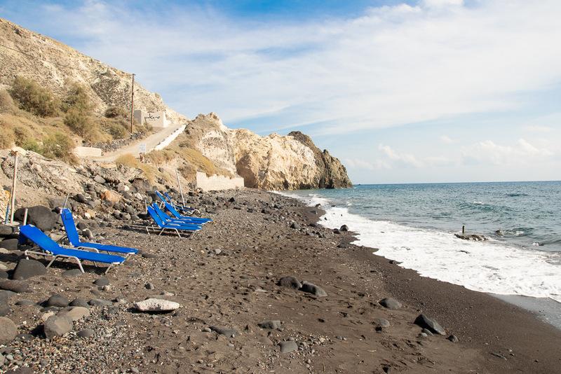 Black Beach, Santorini, Griechenland, Kykladen, Ägäis