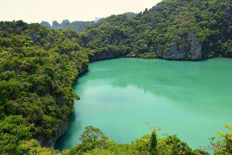 Smaragdsee, Ang Thong Marine Nationalpark, Thailand, Koh Samui