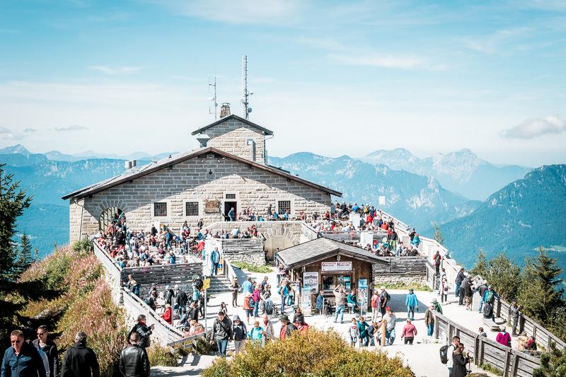 Kehlsteinhaus, Adolf Hitler, Bayern, Berchtesgaden, Deutschland