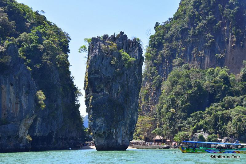 James Bond Felsen, Khao Ta-Pu, Khao Phing Kan, Wasser, Thailand, Urlaub