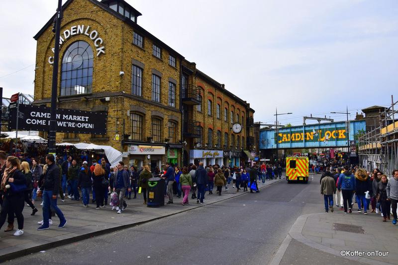 Camden Town, Geschäfte, Markt, Märkte, Stadtteil, Restaurants