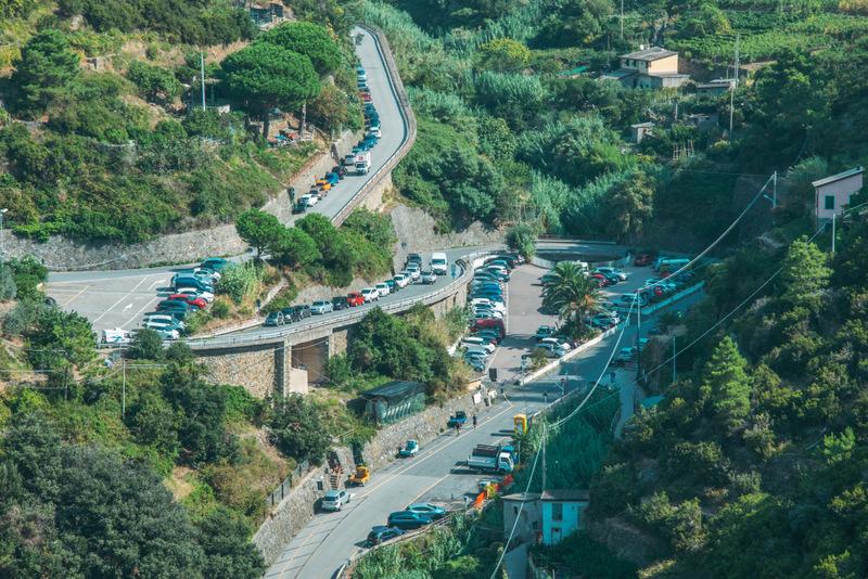 Parken in der Cinque Terre, Parkplatz, Parkhaus Cinque Terre, Wo parken in der Cinque Terre