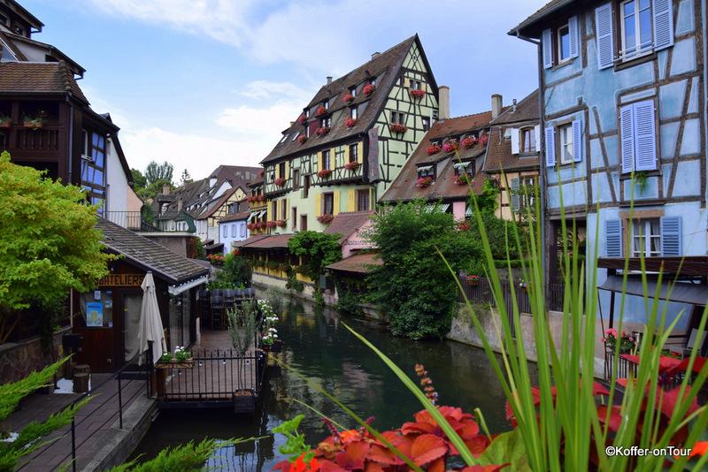 Colmar, Elsass, Frankreich, Fachwerkhäuser
