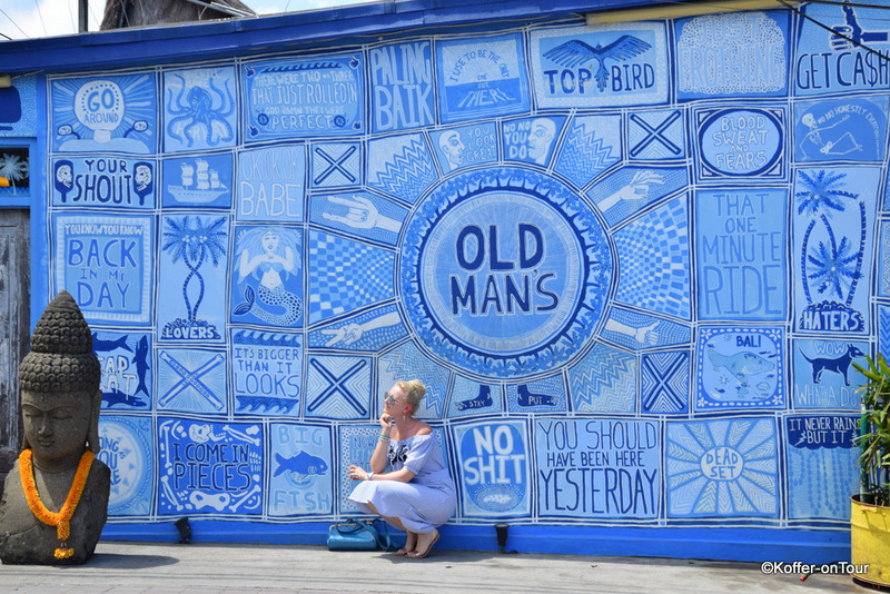 Old Mans, Restaurant, Bar, Blaue Wand, Canggu, Bali
